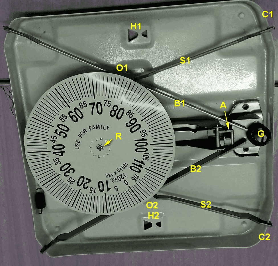 How To Repair An Analog Weighing Scale Another