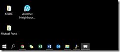 shortcut in desktop