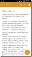 King James Bible - Android App (4)