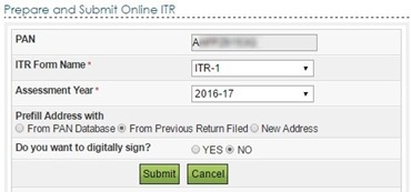 file IT return