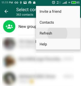 how to add a contact in whatsapp chat